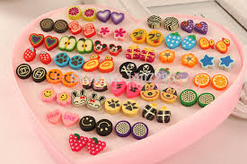 plastic stud earrings post present picture more detailed picture about cheapest