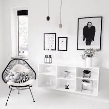 deco noir et blanc chambre des astuces d une décoration style scandinave à retenir le mix