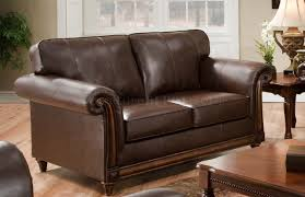 soft bonded leather sofa u0026 loveseat set w options