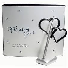 personalized guest books wedding guest book ideas wedding planner book