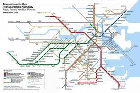 Mbta T Map Urban Geographies Cities Places Regions