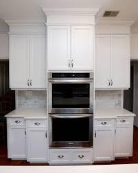 Italian Kitchen Backsplash Kitchen Cabinet White Cabinets Stained Doors Drawer Knobs Cork