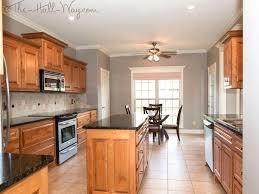 paint color ideas for kitchen with oak cabinets adorable gray kitchen oak cabinets grey paint colors cabinet paint