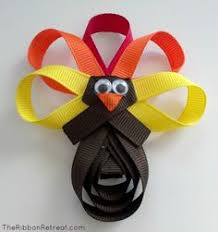 turkey ribbon sculpture tutorial bombshell bling thanksgiving
