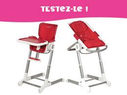 chaise bébé confort testez pour enfant magazine ce mois ci un ensemble transat