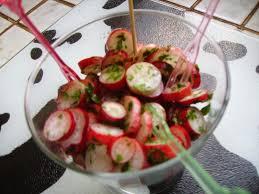 cuisiner les radis roses plat cashere recette cashere salade de radis alliance le