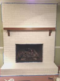 How To Paint Home Interior Fireplace Creative How To Paint Brick Fireplace White Room