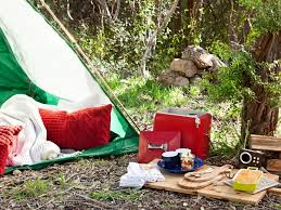 Camping In Backyard Ideas Step By Step Instructions For A Romantic Camping Trip For Two Diy