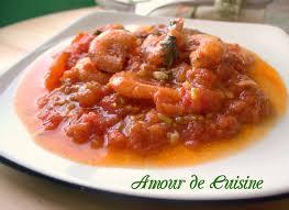 cuisine tomate crevettes en sauce tomate amour de cuisine