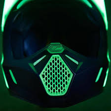 motocross helmet light fox racing new 2016 limited edition v3 libra glow in the dark