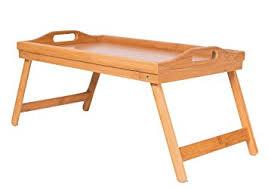 basic lap table bed tray amazon com birdrock home bamboo lap desk bed tray handles