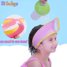 baby shower cap baby shower cap baby bath hat shoo caps hair washing hats child