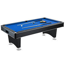 what is a billiard table amazon com hathaway hustler 7 8 pool table with blue felt