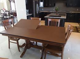 vinyl table pads for dining room tables
