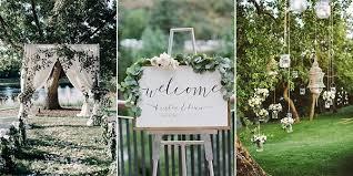 Garden Wedding Idea 2018 Wedding Ideas 25 Brilliant Garden Wedding Decoration Ideas