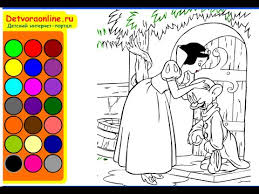 free snow white coloring pages girls snow white coloring