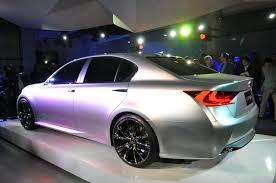 lexus lf sedan nyias lexus lf gh concept shows off the new face of the brand