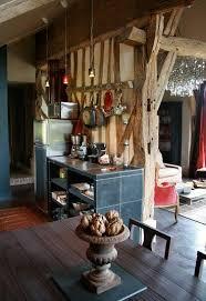 Style cuisine décoration Cuisine inox plan de travail Maison