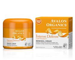 amazon com avalon organics intense defense renewal cream 2