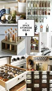 creative kitchen spice storage ideas and solutions kitchen spice