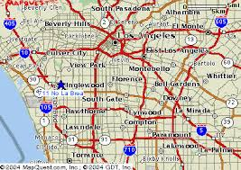 map of areas and surrounding areas los angeles equipment rentals trencher equipment inglewood