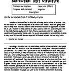82 best teaching text structures to middle students images