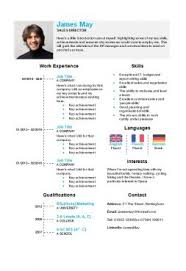 resume template microsoft 130 cv templates free to in microsoft word format