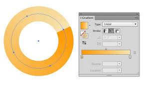 tutorial illustrator gradient adobe illustrator how to apply a gradient effect for a particular