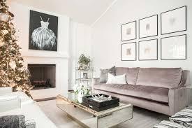 glam la canada living room peltier interiors