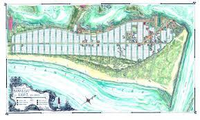 Florida Shark Attack Map Coastal Art Maps