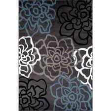 floral gray area rugs rugs the home depot