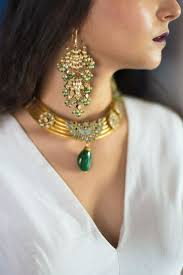 33 best heavy chokar sets images on pinterest bridal jewellery