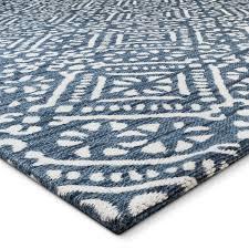 ebay area rugs area rug aragon indigo 5 u0027x7 u0027 threshold u0026 153 ebay