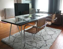custom glass table top near me 17 apart repurposed from door to desk
