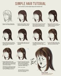simple hair tutorial by vervex deviantart com on deviantart