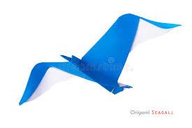 origami gabbiano gabbiano di origami immagine stock immagine di wildlife 41539759