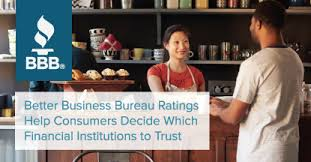 bureau of financial institutions better business bureau ratings help consumers decide which financial