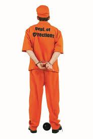prisoner costume escaped convict prisoner costume prisoner department of corrections