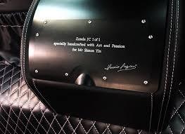 Pagani Zonda Interior Pagani Zonda 760 Jc Destined For China Spotted