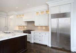 Kitchen Backsplash Photos White Cabinets Astonishing Modern White Kitchen Design