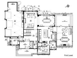 Open Space House Plans Luxury Kitchen Floor Plans