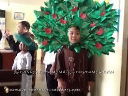 Tree Halloween Costume Original Easy Costume Child Apple Tree