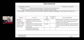 treatment plan example youtube