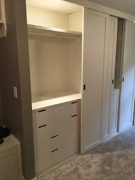 ikea nordli dressers within built in closet sliding ceiling