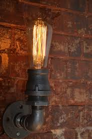 Edison Bulb Sconce Industrial Sconce Steampunk Wall Sconce Industrial Light