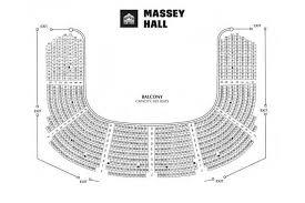 massey hall floor plan seating map massey hall