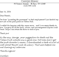 sample thank you email for help finding a job susan ireland resumes