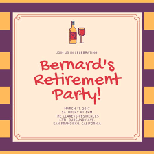 retirement invitations customize 35 retirement party invitation templates online canva