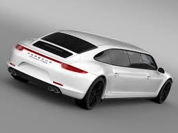 porsche 911 carrera porsche 911 carrera 4 gts limousine 2016 3d model max obj 3ds fbx