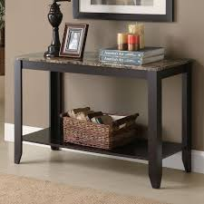 Slim Entryway Table Furniture Contemporary Narrow Console Table For Entryway